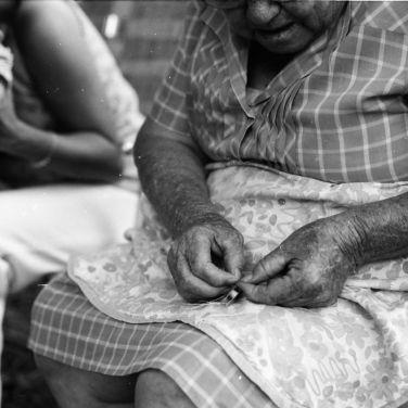 Grandma's tating